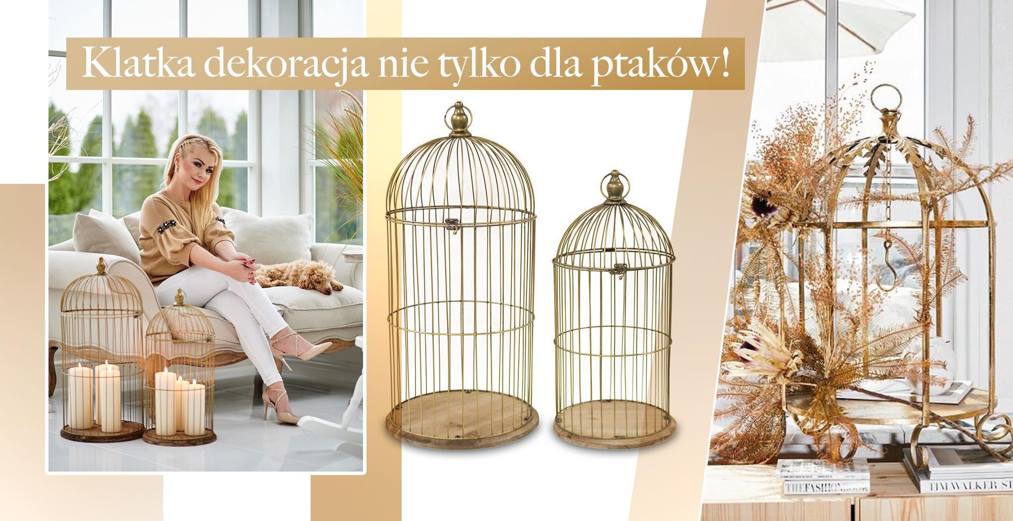klatka dekoracja sklep online